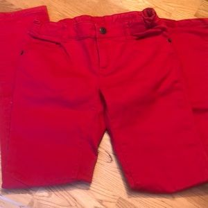 Girls RED crazy 8 jeans